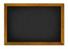 Empty office black board Stock Images