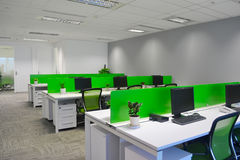 Empty office. Bright empty office room with modern decoration Royalty Free Stock Photography
