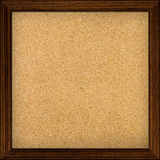 Empty office cork notice board. With wood frame Royalty Free Stock Photography