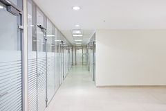 Empty office corridor Royalty Free Stock Photos