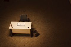 Empty office desk Stock Photography
