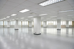 Empty office floor Royalty Free Stock Photography