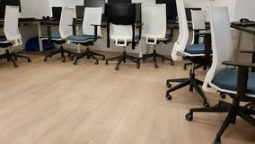 Empty office. Nobody in office Royalty Free Stock Images
