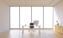 Empty office Stock Image
