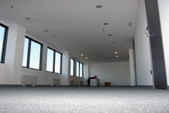Empty office. Place from low angle Royalty Free Stock Photos