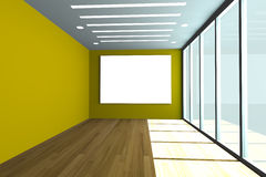 Empty office room Stock Photo