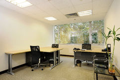 Empty office room Royalty Free Stock Photo