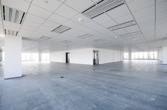 Empty office room. An empty office room,day Stock Photos