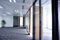 Empty office room Royalty Free Stock Image