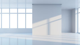 Empty office space Stock Photography