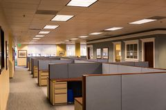 Empty Office Space Royalty Free Stock Photography
