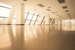 Empty office space with large window Stock Images