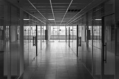 Empty offices Stock Photography