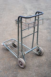 Old airport luggage cart Royalty Free Stock Image