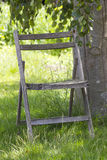 Empty old chair Stock Image