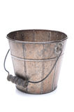Empty Old Fashioned Bucket Stock Photography