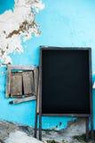 Empty old menuboard Royalty Free Stock Photography