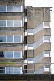 Empty old office block. Empty office block in British decaying town Royalty Free Stock Photos