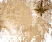 Empty old paper texture Stock Image