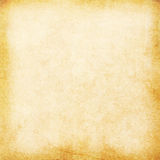 Empty old paper vintage background. Old empty stained beige vintage paper texture stock images