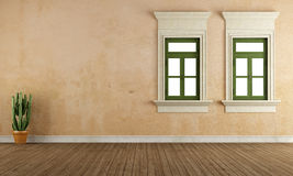 Empty old room Royalty Free Stock Photography