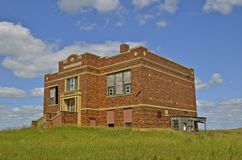 Empty old  schoolhouse Royalty Free Stock Images