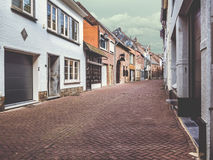 Empty old street Royalty Free Stock Photography
