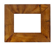 Empty old wood frame Stock Photography