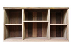 Empty old Wood Shelf Royalty Free Stock Photo