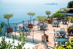 Free Empty Open Air Restaurant Stock Photos - 32680613