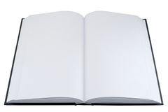 Empty open book Royalty Free Stock Photography