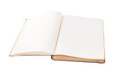 Empty open book Royalty Free Stock Photos