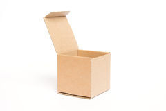 Empty open box Royalty Free Stock Photo