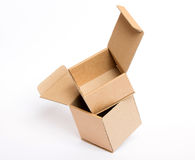 Empty open box Royalty Free Stock Photography