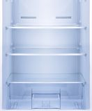 Empty open fridge. Royalty Free Stock Image