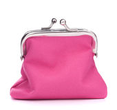 Empty open purse Stock Image