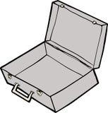 Empty Suitcase Royalty Free Stock Photo
