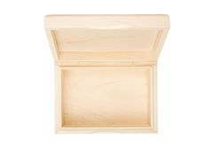 empty open wooden box isolated stock image image of container