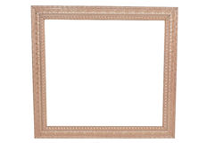 Empty Ornate Picture Frame Royalty Free Stock Photo