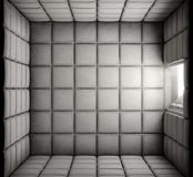 Empty Padded Cell With Open Door Stock Image