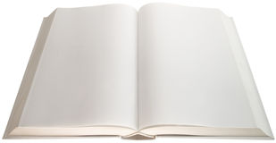 Empty pages cutout Stock Photo
