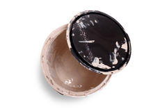 Empty paint can Stock Images