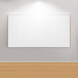 Empty Paintings Frame On Wall Royalty Free Illustration