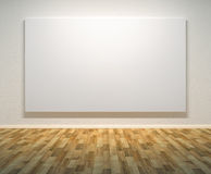 Empty paintings frame on the wall Stock Image