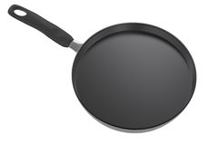 Empty pan on white background Royalty Free Stock Images