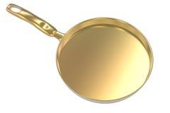 Empty pan on white background Royalty Free Stock Photo