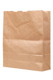 Empty paper bag Stock Image