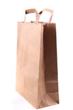 Empty paper bag Stock Photography