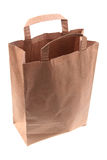 Empty paper bag Royalty Free Stock Images