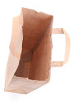 Empty paper bag Royalty Free Stock Photography